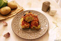 Involtini vegetariani di verza e patate | Vegetarian stuffed cabbage rolls