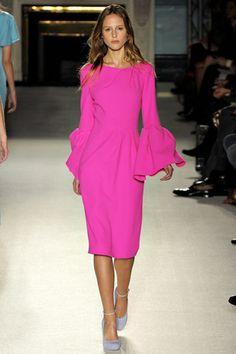 Roksanda Spring 2012 Ready-to-Wear Fashion Show - Megan Will