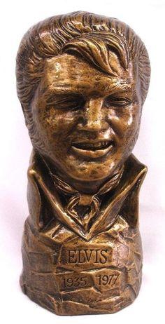 14 Elvis Presley  Le roi  buste Statue par ArtofHistory sur Etsy