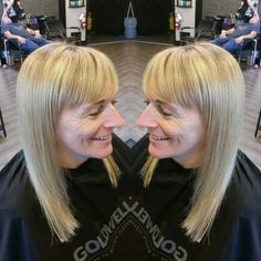 Regrowth Touch up done with balayaged highlights for my beautiful client!