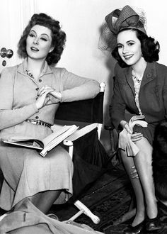 Greer Garson and Teresa Wright. Two of my most favorite actresses