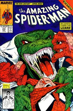 Amazing Spider-Man #313, march 1989, cover by Todd McFarlane.