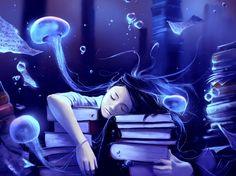 Фантастические миры последователя Тима Бёртона и Хаяо Миядзяки (15 иллюстраций)