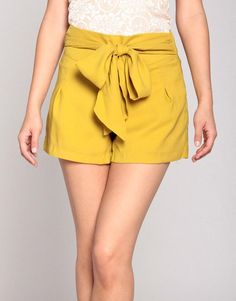 BowTie Chiffon Shorts