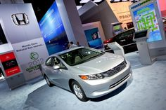 Honda Civic Natural Gas: The greenest car you're never heard of Gas Energy, Fuel Cell Cars, Eco Friendly Cars, Nissan Leaf, Honda Cars, Toyota Prius, Honda Civic, Cars Motorcycles, Chevy