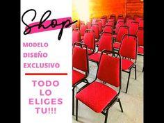 💗Hogar Auditorios Templos Eventos Matrimonios Casinos +569-65420522 / +5... Outdoor Chairs, Outdoor Decor, Iglesias, Make It Yourself, Blog, Shopping, Temples, Auditorium, Metal Furniture