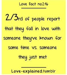 Love facts (first love,crush,psychology,interesting fact,didyouknow,did you know,relatable,in love,love,couple)