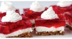 Nepečený tvarohový koláč | Báječné recepty