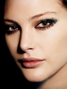 The Classy Girl's Guide to Glittery Party Makeup: Makeup: allure.com