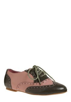 Cute brogue shoes from Modcloth...not to mention, on sale!