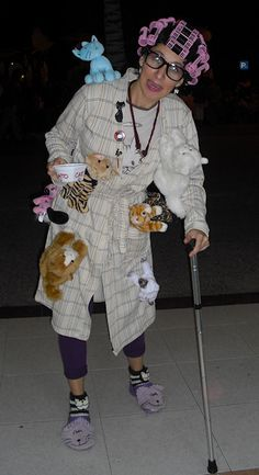 another crazy cat lady costume!