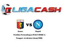 Ligacash-Prediksi Pertandingan Genoa vs Napoli