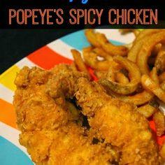 Copycat Popeye's Spicy Chicken