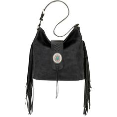 American West Seminole Soft Slouch Shoulder Bag ($289) ❤ liked on Polyvore featuring bags, handbags, shoulder bags, slouchy handbags, western purses, slouchy shoulder bag, slouch shoulder bag and cowgirl handbags