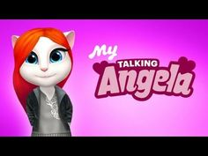 My Talking Angela Android Gameplay #1 - YouTube