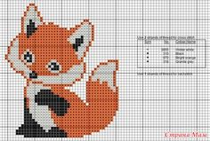Cross Stitch Fruit, Small Cross Stitch, Cross Stitch For Kids, Cross Stitch Bookmarks, Cross Stitch Bird, Cross Stitch Animals, Cross Stitch Designs, Cross Stitching, Cross Stitch Embroidery