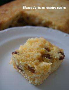 Blanca Cotta en nuestra cocina: Torta de harina de maiz