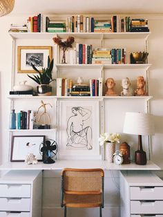Photo by eliza kern ikea shelving hyllyratkaisut, itsetehty sisustus, sisus Ikea Algot, Ikea Ikea, Shelving Design, Wall Design, Bookshelf Design, House Design, Home Office Design, Home Office Decor, Home Design Living Room