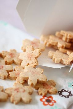 Sakura Cookies- the Macrobiotic Way