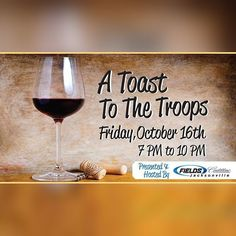 """Reminder: Coming up on Friday at 7:00PM join us for """"A Toast To The Troops"""" @fieldscadillacj - with St. Michael's Soldiers. The evening will consist of Wine and Beer along with wonderful Gourmet offerings by Anthonys Catering a Silent Auction 50/50 Raffle and Live Entertainment by the amazing talents of Jukebox 337. You will also have a chance to meet Jaguar Superstars Allen Robinson and Marqise Lee! For more information and to purchase tickets visit http://ift.tt/1VQnzp5  #AToastToTheTroops…"""