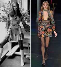 Then and Now: The '70s Trend  #InStyle