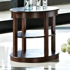 Delicieux 8120 47 Oval End Table W26 1/2 X D22 X H25   Pscog   Pinterest   Manhattan  And Oval Table