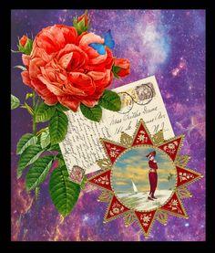 A Nile Journey Digital Collage Shelby Pizzarro. Sisterhood of the Muse. Lunagirl Moonbeam Design Team