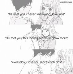 The girl reminds me of an anime character I created Sad Anime Quotes, Sad Quotes, Qoutes, Takano Ichigo, Orange Quotes, What Is Love, My Love, Anime Gifts, Manga Couple