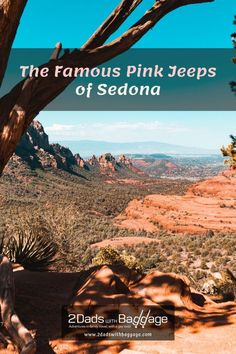 The Famous Pink Jeeps of Sedona - 2 Dads with Baggage Family Vacation Destinations, Best Vacations, Vacation Trips, Travel With Kids, Family Travel, Sedona Pink Jeep Tours, Visit Sedona, Best Spa, Adventure Tours