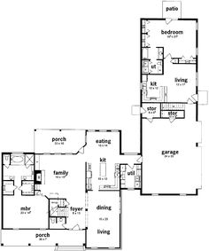 Plan 8413JH: Extra Space Galore