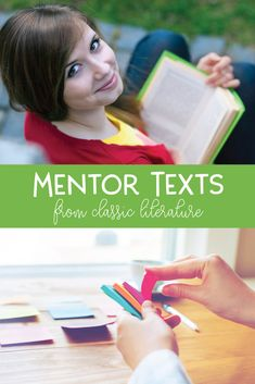 Add a few of these mentor texts to your creative writing lessons. The structure, modifier use, and vocabulary from these classic texts will help young writers. Mentor Sentences, Mentor Texts, Creative Writing Classes, Creative Teaching, Language Study, English Language, Language Arts, Writing Lessons, Math Lessons