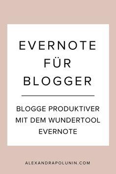 Mit Evernote sparst du viel Zeit beim Bloggen! Von der Ideenfindung, übers Schreiben bis zum Archiv – mit diesem Tool sorgst du für den optimalen Workflow.