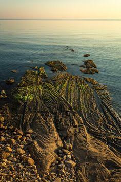 pobrežie v neďaleko Cefalù