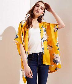 Kimono Cardigan, Cardigan Fashion, Kimono Fashion, Boho Fashion, Long Cardigan, Fashion Styles, Kimono Design, Clothes 2019, Fashion Painting
