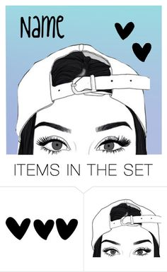 """""""Open icon!"""" by be-robinson ❤ liked on Polyvore featuring art"""