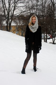 How to wear winter
