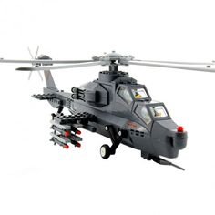 Army Helicopter - Lego Compatible Toy