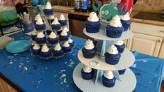 Whale-themed Baby Shower