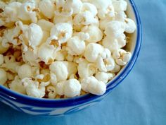 Looking for a healthy snack? Try popcorn! This whole grain is packed full of fiber and contains polyphenols, the same antioxidants found in red wine. Just go easy on the butter and salt!
