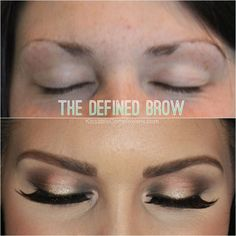 Tips for how to grow thinner brows out and how to fill them in as well!