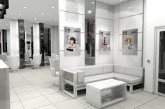 S group beauty salon interior design by Igor Shevchenko, via Behance