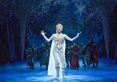 frozen on broadway costumes Elsa Frozen On Broadway, Frozen Musical, Broadway Nyc, Frozen Movie, Broadway Shows, Broadway Theatre, Theatre Nerds, Music Theater, Disney S