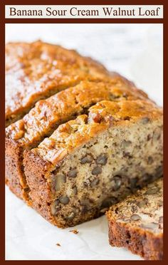 The snack is a topic that is talking about nutrition. Is it really necessary to have a snack? A snack is not a bad choice, but you have to know how to choose it properly. The snack must provide both… Continue Reading → Best Banana Bread, Banana Bread Recipes, Apple Bread, Gourmet Recipes, Dessert Recipes, Cake Recipes, Brunch Recipes, Healthy Recipes, Dessert Bread