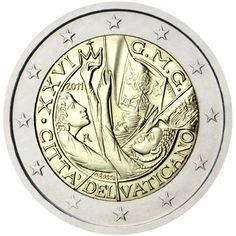 2 euro commémorative 2011 Vatican - Commémoration des 26ème Journées Mondiales de la Jeunesse : tirage 115 000 ex
