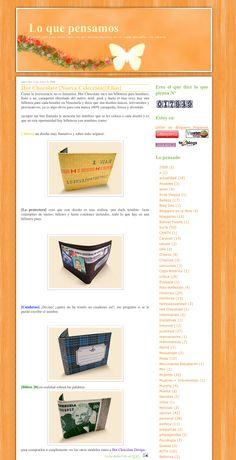 """Blog """"Lo que pensamos"""" - Venezuela - 2008 #billeteras #hotchocolatedesign #hcd #design #wallet"""