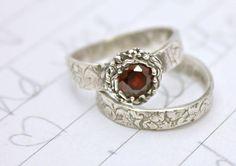 love garnet rings