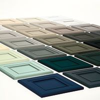 Diamond At Lowe's - Intrigue Series - so excited about all of these color choices for our kitchen cabinets