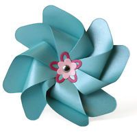 LIFESTYLE CRAFTS Pinwheel - Cookie Cutter Dies*Quickutz Dies DC0241