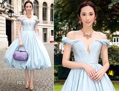 Pace Wu In Ulyana Sergeenko Couture - Bulgari 'High Jewellery Diva' Collection Event - Red Carpet Fashion Awards