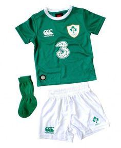 cheaper fed28 57dd8 Ireland IRFU Rugby Infants Home Mini Kit - 201516 Rugby Kit, Kids Swimwear